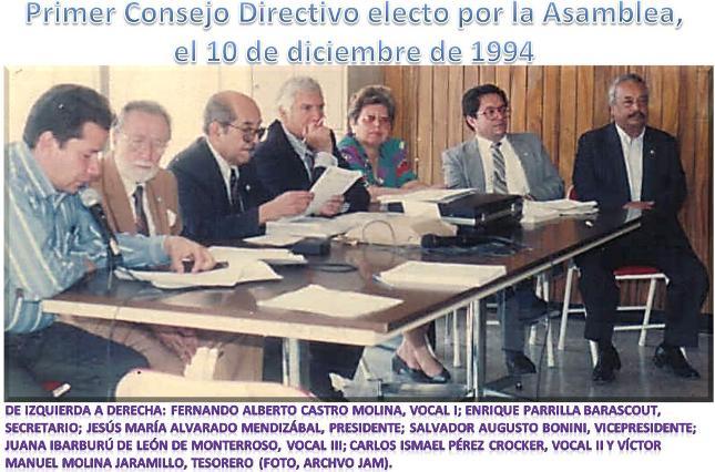 Primer Consejo Direectrivo 1994