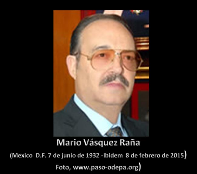 Mario Váquez Raña.