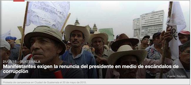 PROTESTAS 20 -05-2015