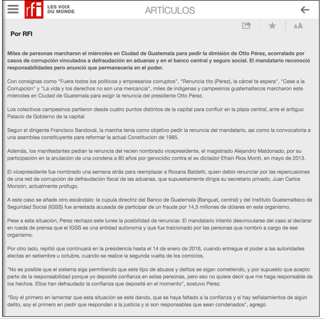 RFI NOTA 520 DEAYO 2015