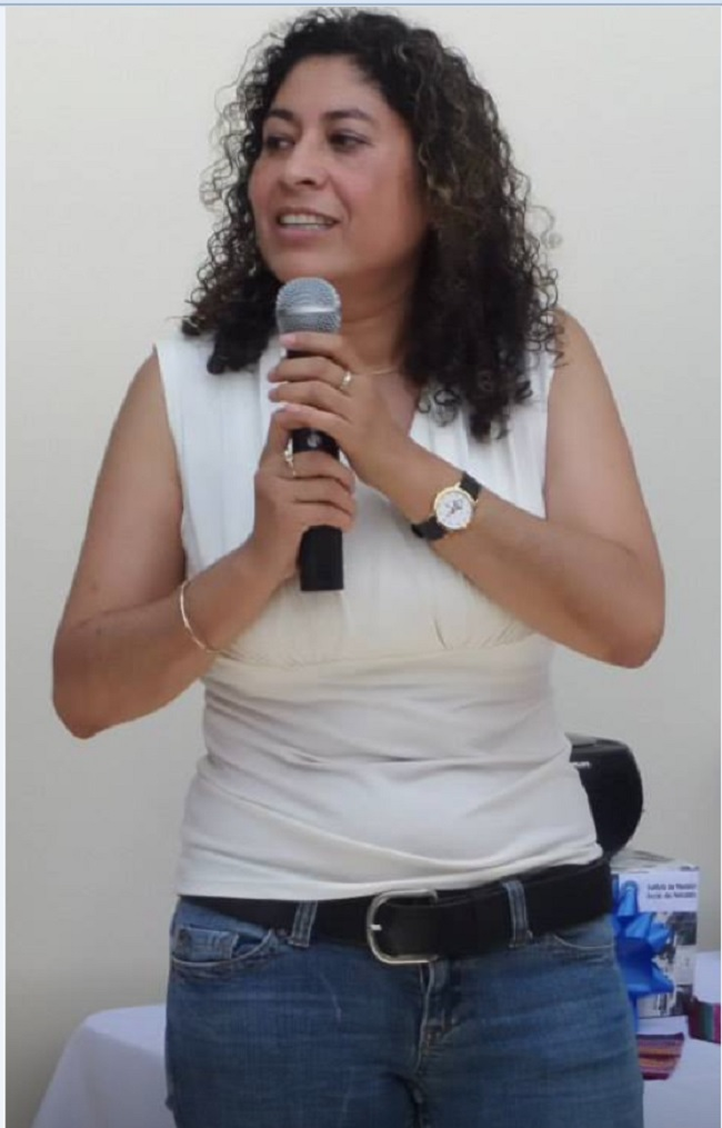 Ingrid Rossana Valenzuela  (Foto, por CAMEL 27062015)