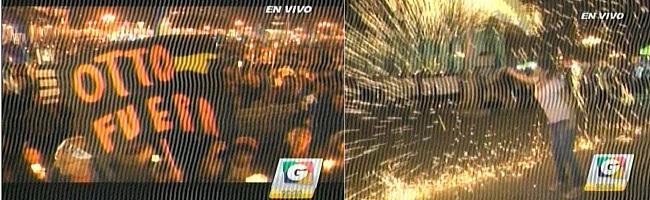 (Captadas de Guatevsión, por TV)