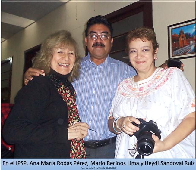 ANA MARIA RODSA PÉREZ-MARIO RECINOS LIMA - HEYDI SANDOVAL RUIZ 26092015