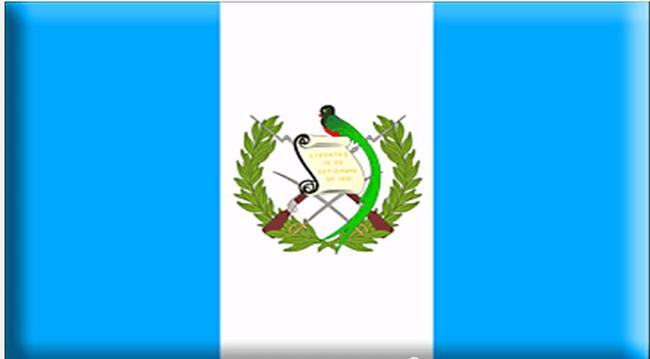 GUATEMALA BANDERA ESCUDO