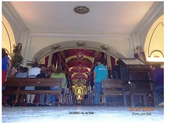 RUMBO AL ALTAR