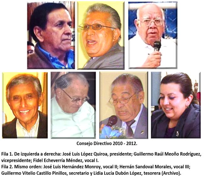 Consejo Directivo 2010-2012