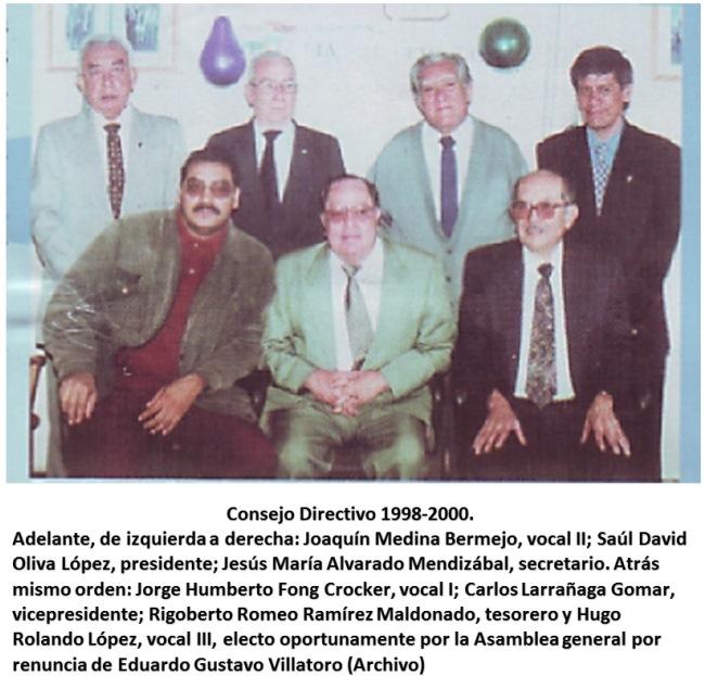 Consejo Directivo Saul David Oliva