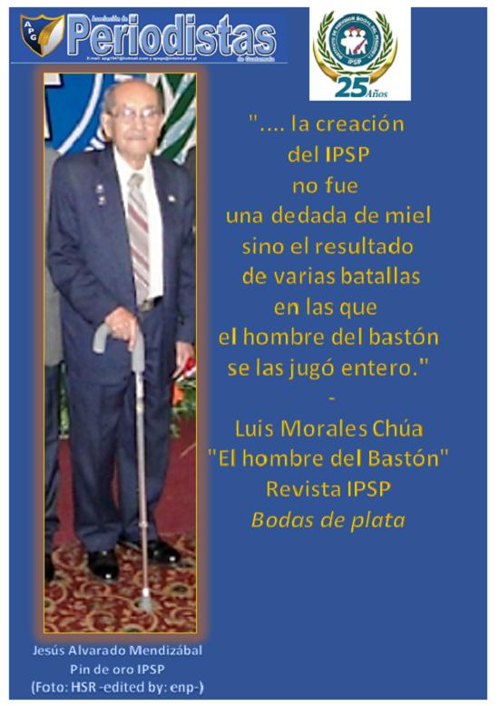EL HOMBRE DEL BASTÓN DISEÑO JTP
