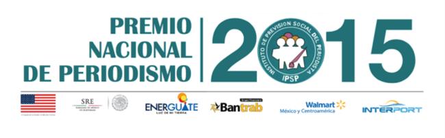 IPSP PREMIO NACIONAL DE PERIODISMO 2015 LOGO