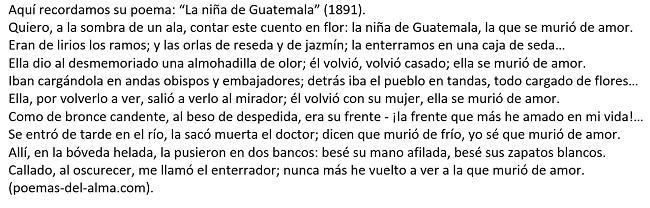 POEMA LA NIÑA 0DE GUATEMALA JM