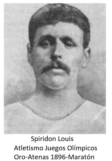 SPIRINDON LOUIS JJ OO 1896 MARATON