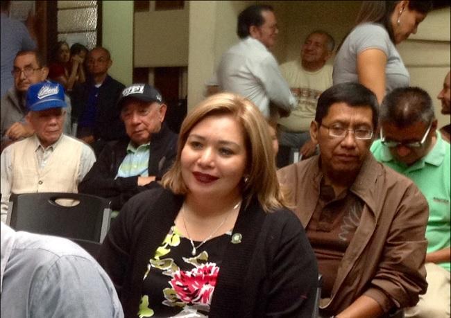 Vista, parcial, de los asistentes a la Asamblea (jtp).