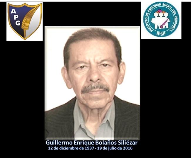 Guillermo Enrique Bolaños 19072016+