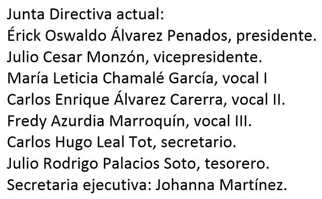 Junta directiva ACD 2017
