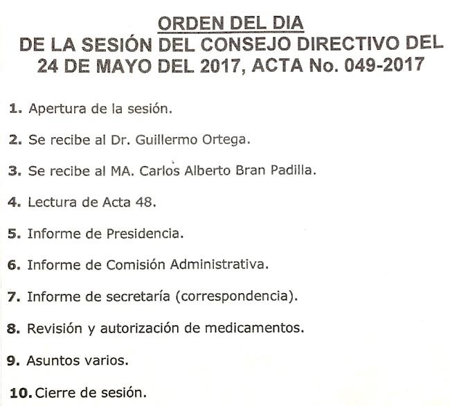 orden del día m24-05-2017 sesiónCD